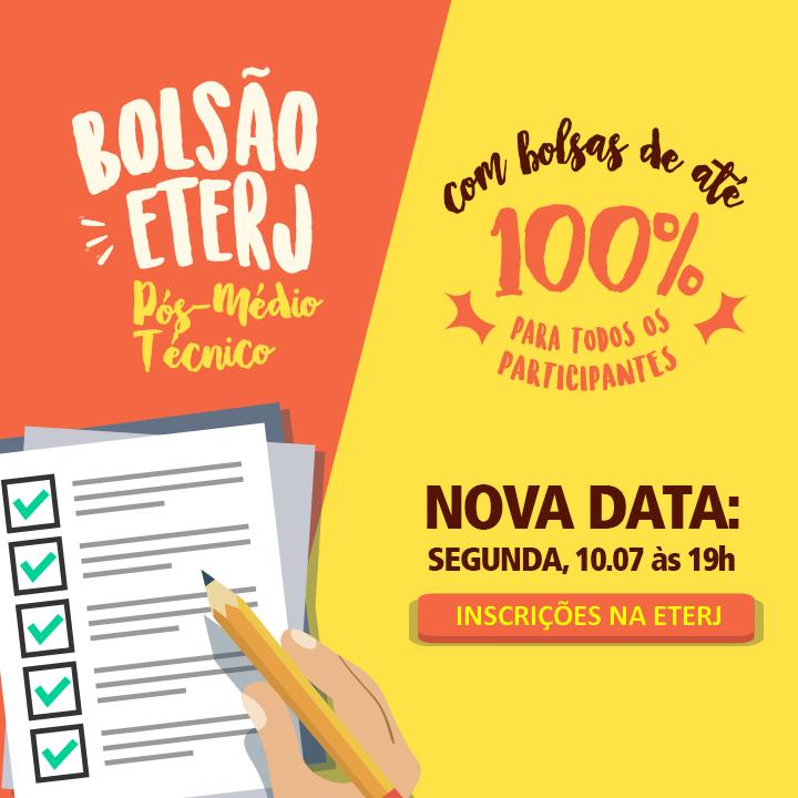 Bolsão para o Pós-Médio – Bolsas de até 100%!