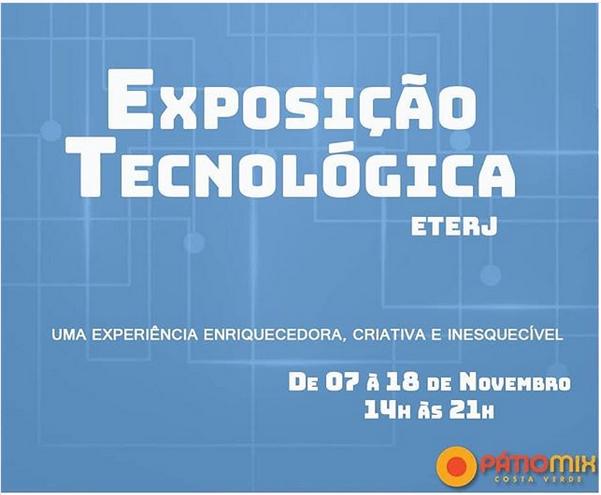 Exposição Tecnológica ETERJ 2018 No Shopping Patio Mix