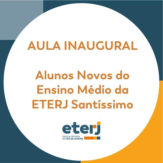 Circular Nº 002/2019 – Aula Inaugural 2019 – Início do Ano Letivo 2019 – Ensino Médio – Alunos Novos