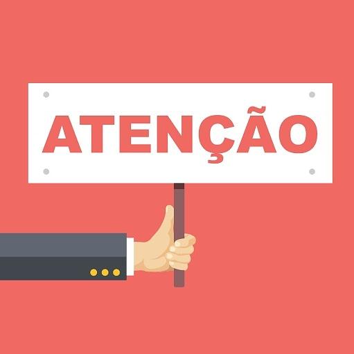 COMUNICADO SOBRE FUNCIONAMENTO EM  SANTÍSSIMO E ITAGUAÍ  AMANHÃ (13/02/19)