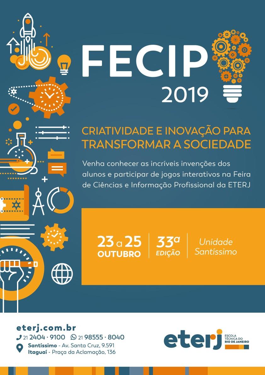 FECIP 2019 – Feira de Ciências e Informação Profissional