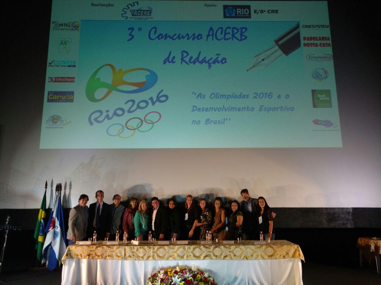 3º Concurso de Redação – ACERB