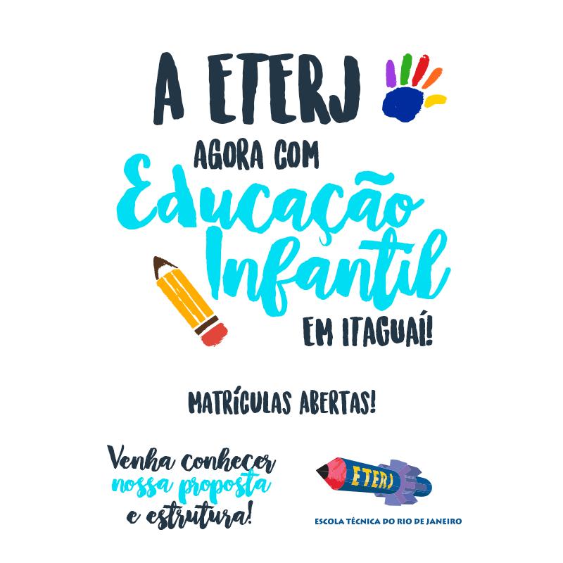 Educação Infantil na ETERJ – Itaguaí