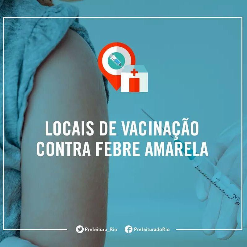 LOCAL DE VACINAÇÃO CONTRA FEBRE AMARELA