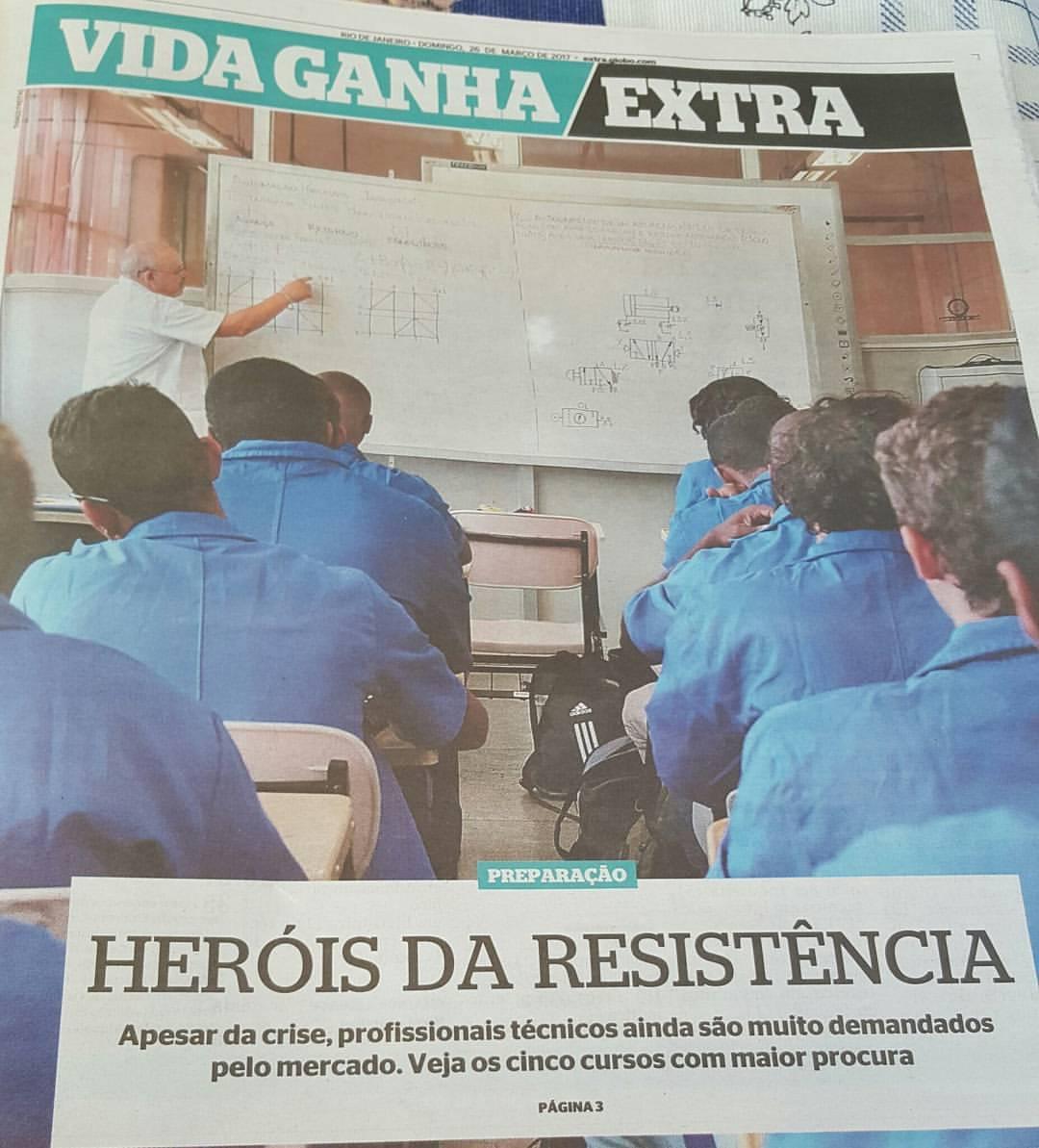 HERÓIS DA RESISTÊNCIA – Apesar da crise, profissionais técnicos ainda são muito demandados pelo mercado.
