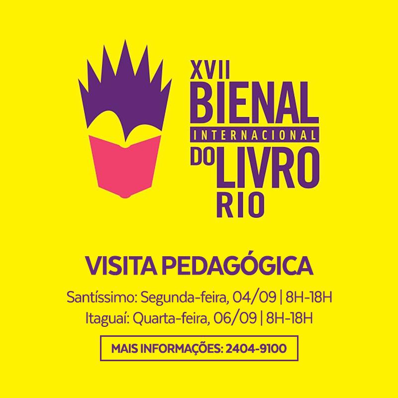 Visita Pedagógica a Bienal do Livro Rio 2017
