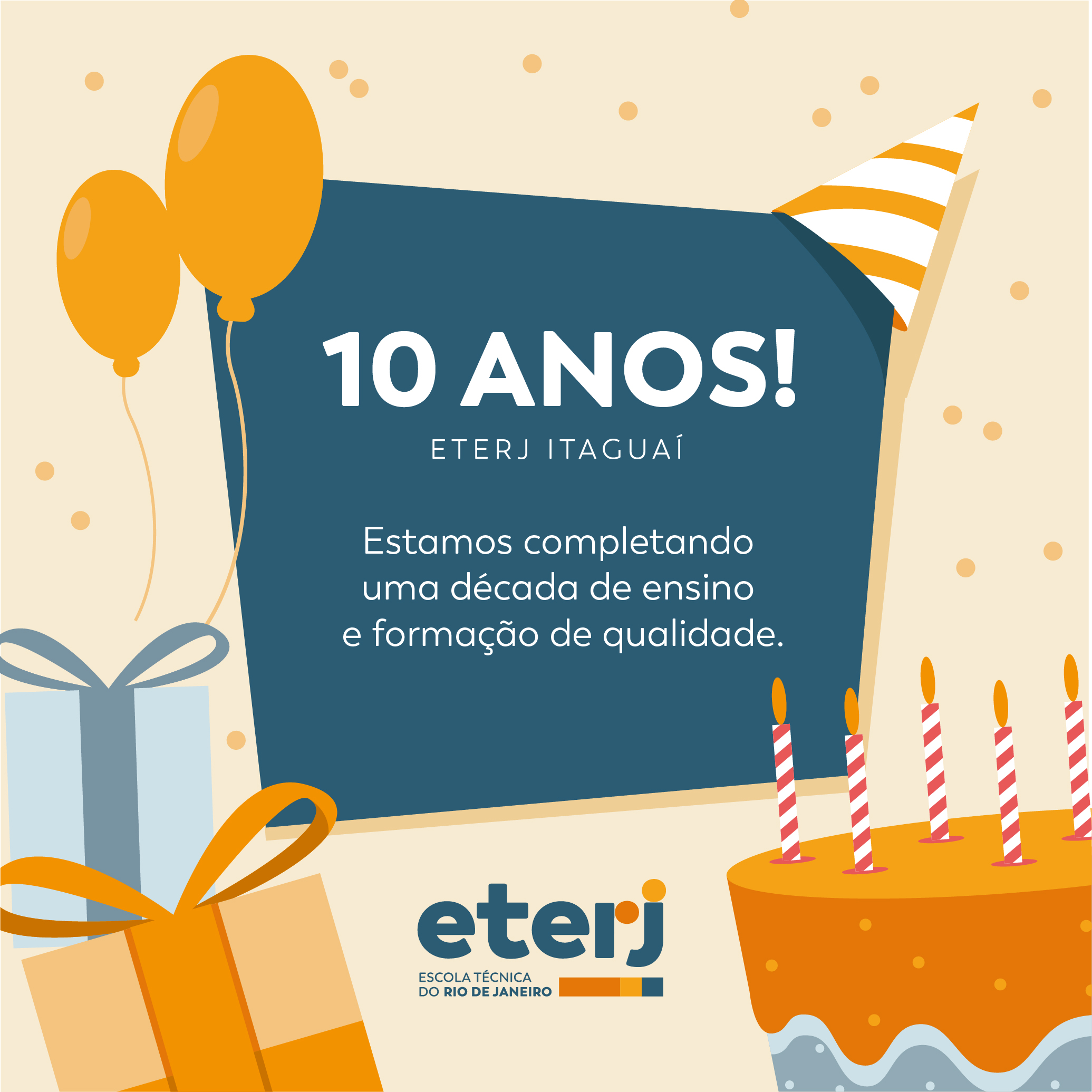 10 anos da ETERJ Itaguaí
