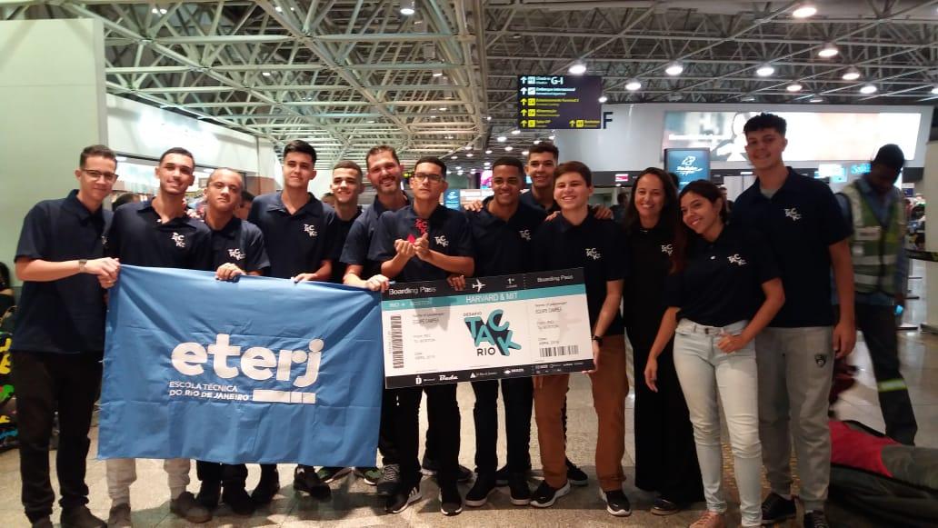 Alunos da ETERJ no Brazil Conference 2019 em Boston – EUA