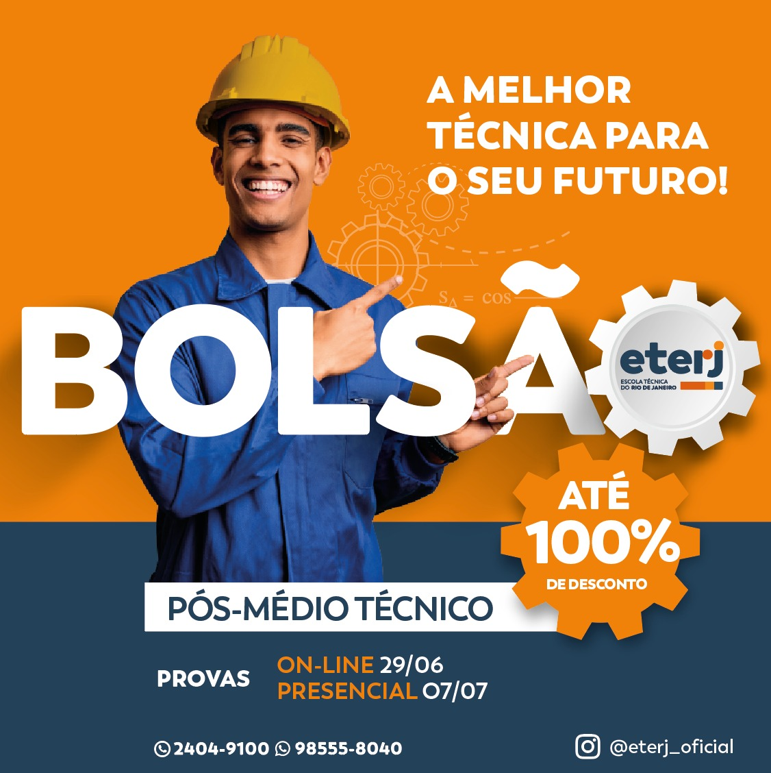 Bolsão Pós-Médio Técnico – 2º semestre 2021